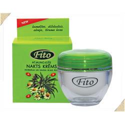 Dzintars (Дзинтарс) - Крем ночной восстанавливающий для нормальной и сухой кожи лица FITO - 50 ml (21750dz)
