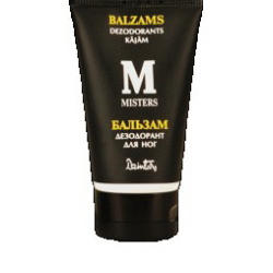 Dzintars (Дзинтарс) - Бальзам дезодорант для ног Мистер - 150 ml (22710dz)