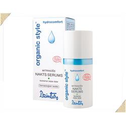 Dzintars (Дзинтарс) - ORGANIC STYLE hydrocomfort Увлажняющая ночная сыворотка для жирной кожи лица - 30 ml (26154dz)