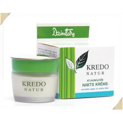 Dzintars (Дзинтарс) - Реген.ночн.крем для норм. кожи лица и шеи Kredo Natur - 50 ml (28200dz)