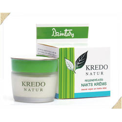 Dzintars (Дзинтарс) - Реген.ночн.крем для сухой кожи лица и шеи Kredo Natur - 50 ml (28210dz)