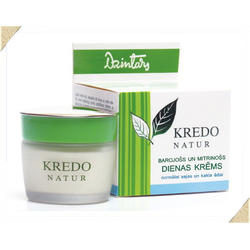 Dzintars (Дзинтарс) - Питательный и увлажняющий дневной крем для нормальной кожи лица и шеи Kredo Natur - 50 ml (28230dz)
