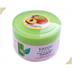 Dzintars (Дзинтарс) - Йогурт для лица и тела для любого типа кожи с ароматом персика и манго Kredo Natur - 250 ml (28258dz)