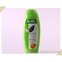 Dzintars (Дзинтарс) - Kredo Natur aroma с апельсиновым маслом. Бальзам-ополаскиватель для любого типа волос - 175 ml (33155dz)
