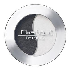 Атласные тени для век BeYu - Duo Eye Shadow №02 Black - White (brk_349.02)