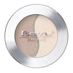 Атласные тени для век BeYu - Duo Eye Shadow №14 Dark Silver - Soft Almond (brk_349.14)