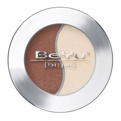 Атласные тени для век BeYu - Duo Eye Shadow №17 Brown Leather - Vanilla Ice (brk_349.17)