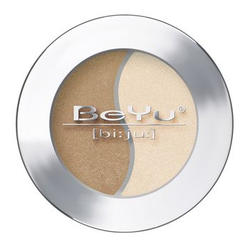 Атласные тени для век BeYu - Duo Eye Shadow №20 Brown Amber - Beige (brk_349.20)