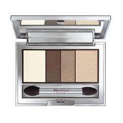 Тени для век BeYu - Catwalk Quattro EyeShadow №08 Chocolate-Sand Shades (brk_35.08)