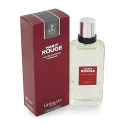 Guerlain Habit Rouge For Men - туалетная вода - 100 ml TESTER
