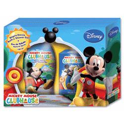 Admiranda Mickey Mouse Club House - для мальчиков Набор (туалетная вода 100 + гель для душа с экстрактом персика 300) (арт. AM 71005)