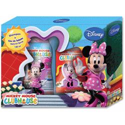 Admiranda Mickey Mouse Club House - для девочек Набор (туалетная вода 100 + шампунь для волос с экстрактом земляники 300) (арт. AM 71006)