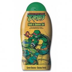 Admiranda Ninja Turtles -  Гель для душа с ароматом зеленого банана -  300 ml (арт. AM 73080)