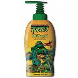 Admiranda Ninja Turtles -  Гель для душа с ароматом зеленого банана -  1000 ml (арт. AM 73084)