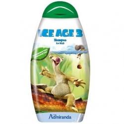 Admiranda Ice Age-3 -  Шампунь для волос с ароматом ментола и зеленой дыни -  300 ml (арт. AM 73096)