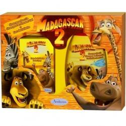 Admiranda Madagascar-2 для мальчиков и девочек -  Набор (туалетная вода 50 + гель для душа кокос и орхидея 300) (арт. AM 73104)