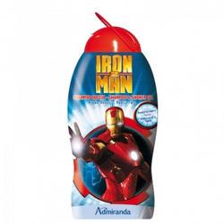 Admiranda Iron Man-2 -  Шампунь-гель для душа с ароматом кедра и чая -  300 ml (арт. AM 73631)