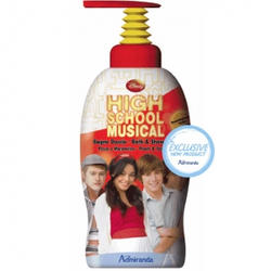 Admiranda High School Musical -  Гель для душа с ароматом персика и мандарина -  1000 ml (арт. AM 74305)
