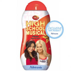 Admiranda High School Musical -  Шампунь для волос с ароматом манго и ананаса -  300 ml (арт. AM 74307)