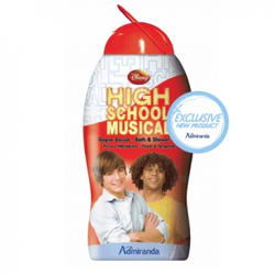 Admiranda High School Musical -  Гель для душа с ароматом персика и мандарина -  300 ml (арт. AM 74308)