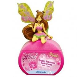 Admiranda Winx Club -  Пена для ванны Flora (фигурка) с ароматом розы -  300ml (арт. AM 76102)