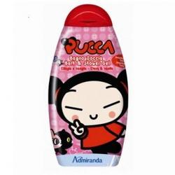 Admiranda Pucca -  Гель для душа с ароматом черешни и ванили -  300 ml (арт. AM 77001)