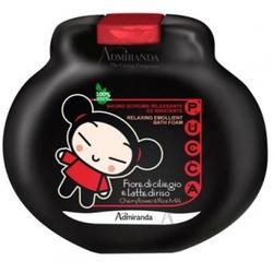 Admiranda Pucca -  Пена для ванны расслабляющая, смягчающая в бутылочке-игрушке с ароматом вишневого цветка и рисового молока -  300ml (арт. AM 77012)