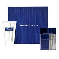 Armand Basi In Blue -  Набор (туалетная вода 100 + после бритья 100 + дезодорант 150)
