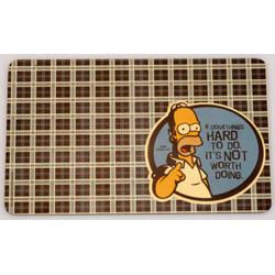 Berghoff -  Набор из 4 досок для нарезки Simpsons (арт. 1500232)