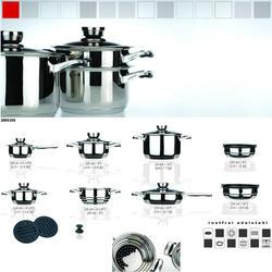 COOK and Co (от Berghoff) -  Набор посуды -  16 предметов с металлическими крышками (арт. 2800256)