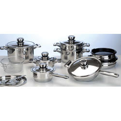 COOK and Co (от Berghoff) -  Набор посуды -  20 предметов с металлическими крышками (арт. 2800263)