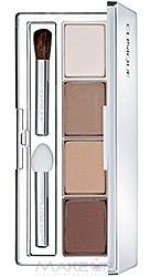 Тени для век 4-цветные компактные Clinique - Colour Surge Eye Shadow Quad №101 (Teddy Bear) Tester
