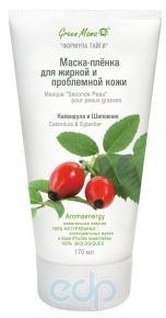 Green Mama - Маска-пленка для жирной кожи Календула и шиповник - 170 ml