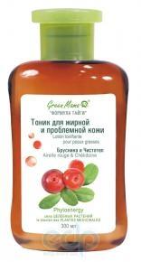 Green Mama - Тоник для жирной кожи Брусника и Чистотел - 300 ml