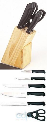 Berghoff Cook&Co (посуда) COOK and Co (от Berghoff) -  Набор легких ножей -  6 предметов в подставке (1307015) (арт. 2800782)