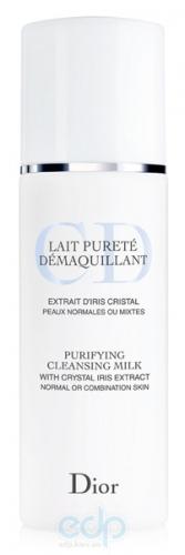Christian Dior - Молочко для снятия макияжа для нормальной и комбинированной кожи Lait Purete Demaquillant - 200 ml TESTER