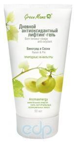Green Mama - Дневной антиоксидантный лифтинг-гель Виноград и сосна - 50 ml