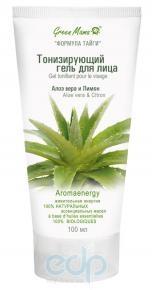 Green Mama - Тонизирующий гель для лица Алоэ Вера и лимон - 50 ml