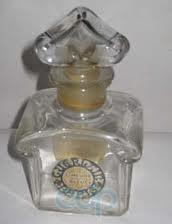 Corday Orchidee bleu baccarat