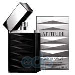 Giorgio Armani Attitude -  Набор (туалетная вода 75 + после бритья 50 + гель для душа 50)