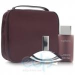 Calvin Klein Euphoria -  Набор (парфюмированная вода 100 + лосьон-молочко для тела 100 + гель для душа 100 + сумка)