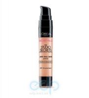Основа для макияжа с тональным эффектом, увлажняющая для темной кожи лица L'Oreal - Studio Secrets Professional - 34 ml