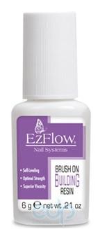 EzFlow - Brush On Resin клей для типс с кисточкой - 6 ml