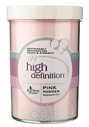 EzFlow - Прозрачно-розовая акриловая пудра High Definition Pink Powder - 454 г