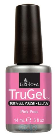 EzFlow - Гель-лак EzFlow TruGel Pink Pout № 409 розовый глянец - 14 ml