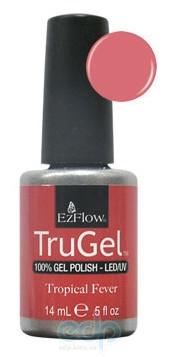 EzFlow - Гель-лак TruGel Tropical Fever № 411 коралловый перламутр - 14 ml