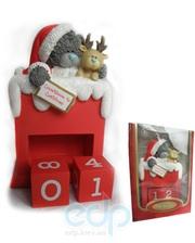 Teddy MTY (мишки) Новогодний календарь MTY (Me To You) - с медвежонком перекидной (арт. G01S0230)
