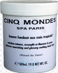 Cinq Mondes - Tropical Nuts Melting Body Balm Тающий Бальзам из тропических орехов - 500 ml