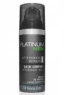 Бальзам после бритья восстанавливающий и успокаивающий Dr Irena Eris - Platinum Men Skin Comfort Aftershave Balm - 50 ml
