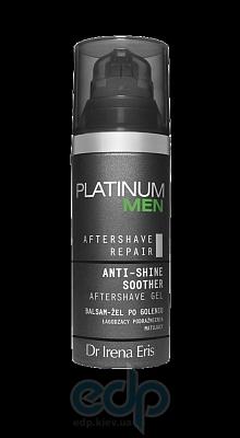 Гель после бритья успокаивающий и увлажняющий Dr Irena Eris - Platinum Men Anti-Shine Soother Aftershave Gel - 50 ml